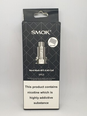 Smok Nord Coil Pack 5 0.8 MTL