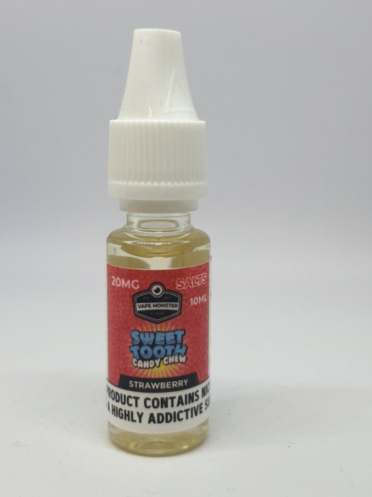 Sweet Tooth Salt Strawberry 10ml 20mg