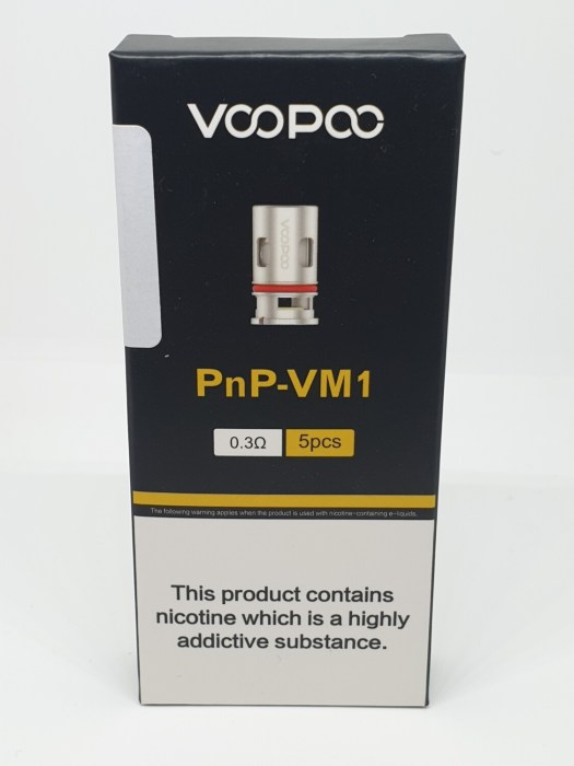 Voopoo PnP VM1 Coil Pack of 5 0.3 Ohm