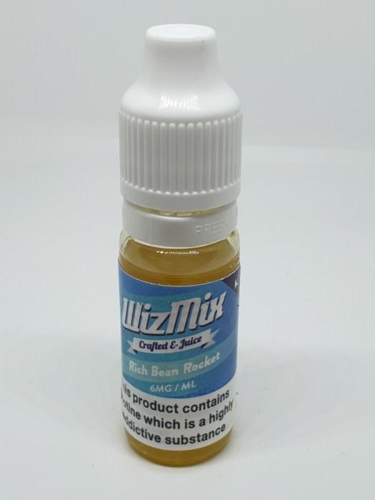 Wizmix Rich Bean Rocket 10ml 6mg 50/50