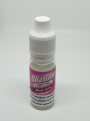 Wizmix Black Jacks 10ml 3mg 50/50