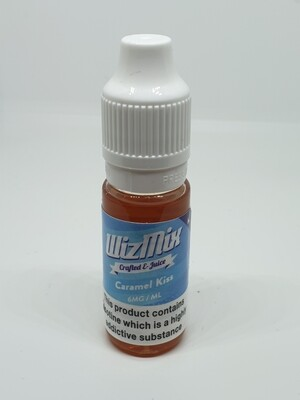 Wizmix Caramel Kiss 10ml 6mg 50/50
