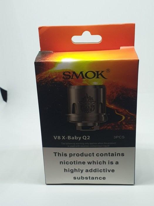 Smok V8  X-Baby Q2 Coils Pack Of 3