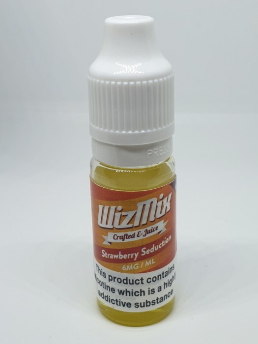 Wizmix Strawberry Seduction 10ml 6mg 50/50