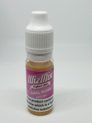 Wizmix Jubbly Bubbly 10ml 6mg 50/50