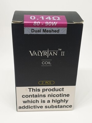 Valyrian 2 Pack Of 2 Coils