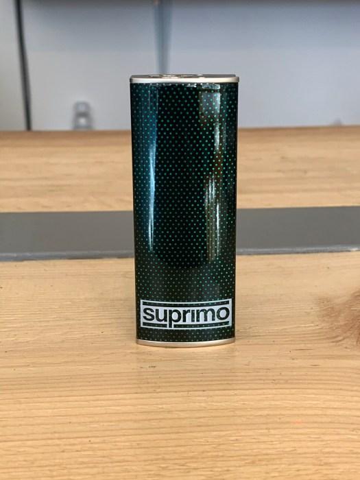 Spade Single Battery Kit Carbon Fibre Green