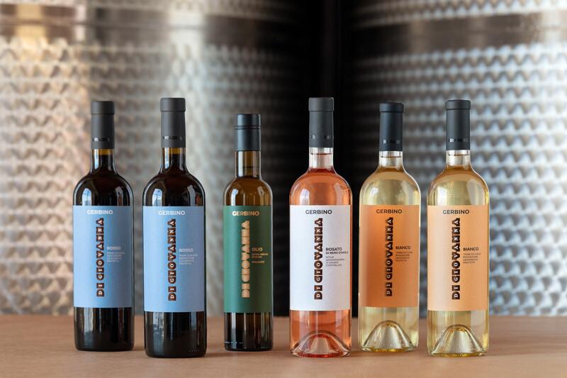 GERBINO Organic Wine & Olive Oil - 6 bottles