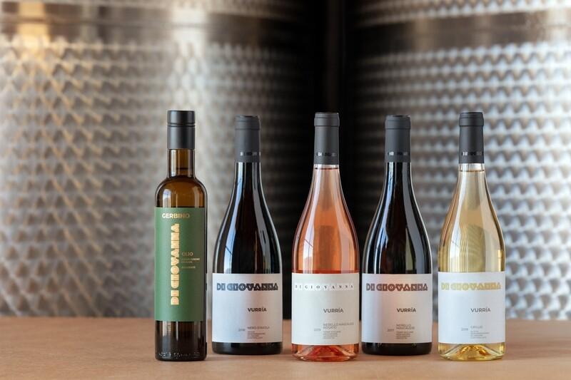 VURRIA Wine & Olive Oil - 5 bottles