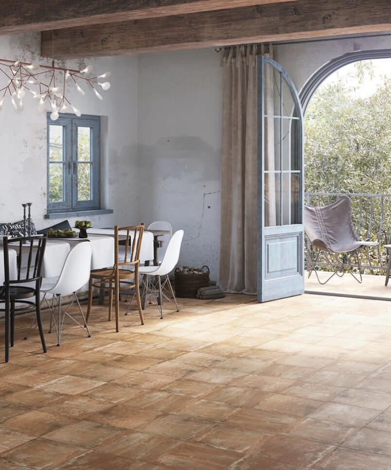 cotto 333 x 333 porcelain satin anti slip floor tile range