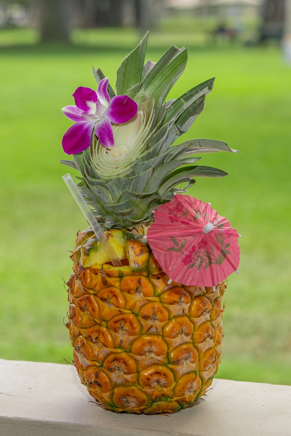 WHOLE PINEAPPLE SMOOTHIE