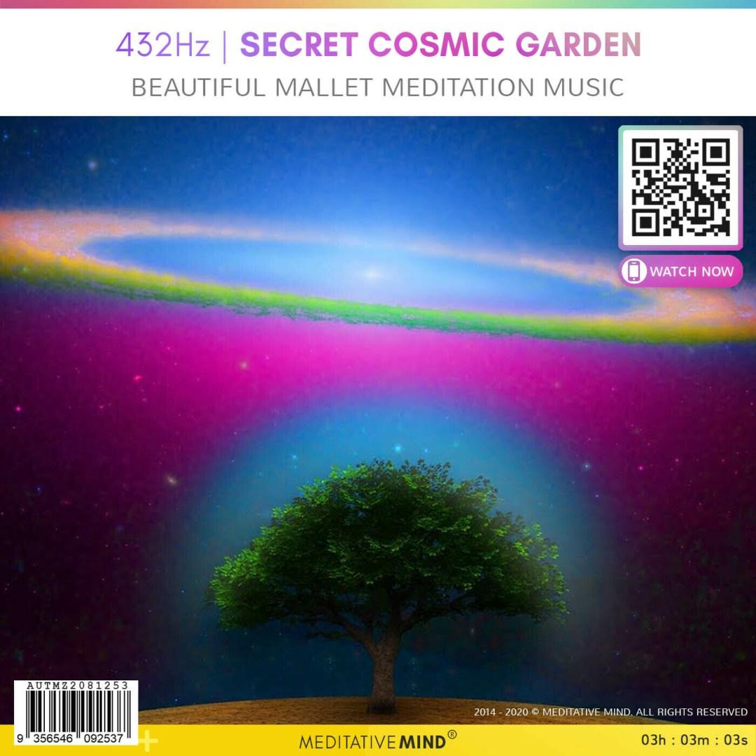 432Hz | SECRET COSMIC GARDEN - Beautiful Mallet Meditation Music