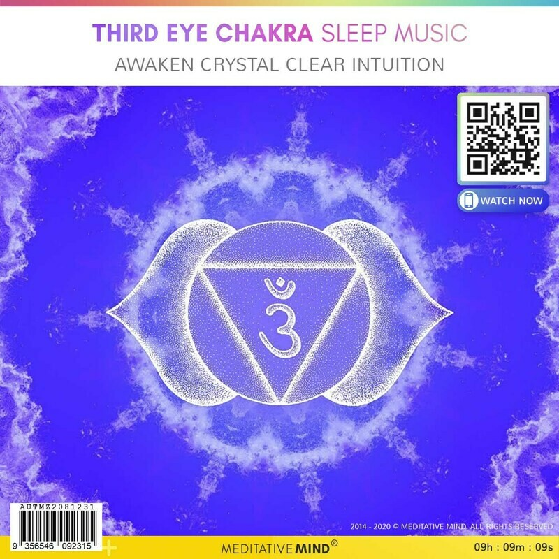 THIRD EYE CHAKRA Sleep Music - Awaken Crystal Clear Intuition