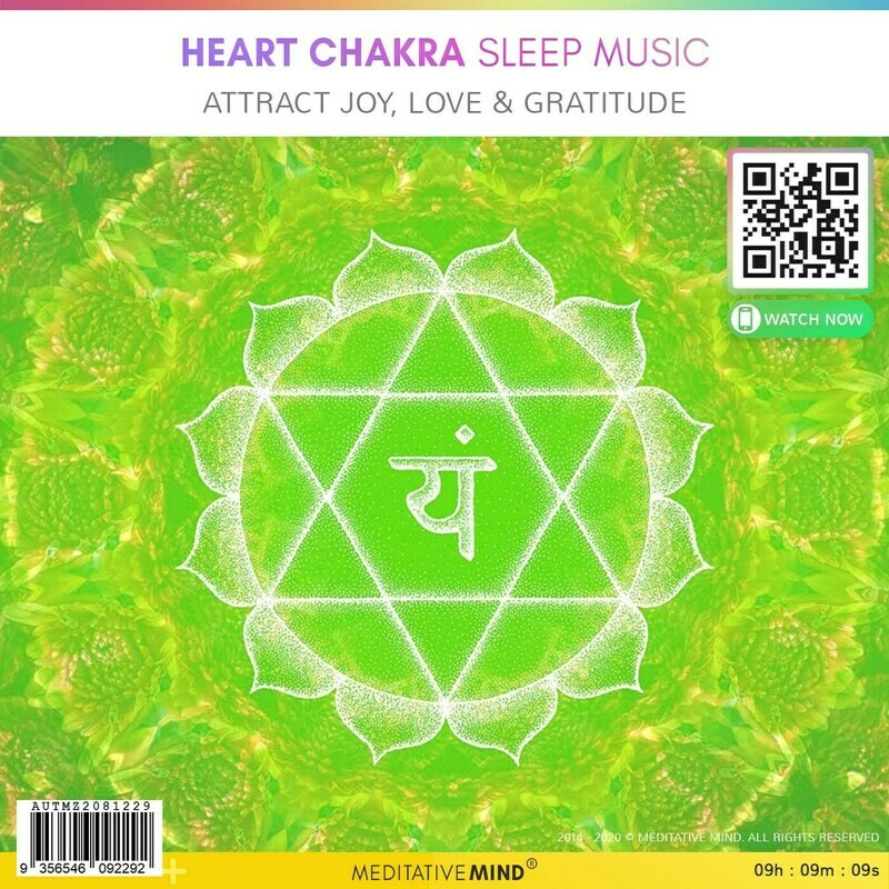 HEART CHAKRA Sleep Music - Attract Joy, Love & Gratitude