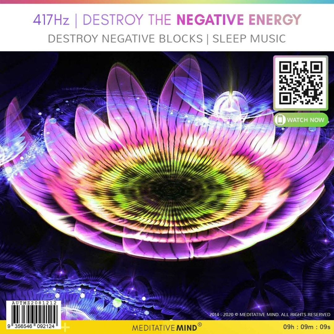 417 Hz | DESTROY the NEGATIVE ENERGY - Destroy Negative Blocks l Sleep Music