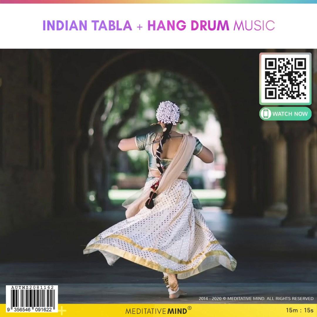 Indian Tabla + Hang Drum Music
