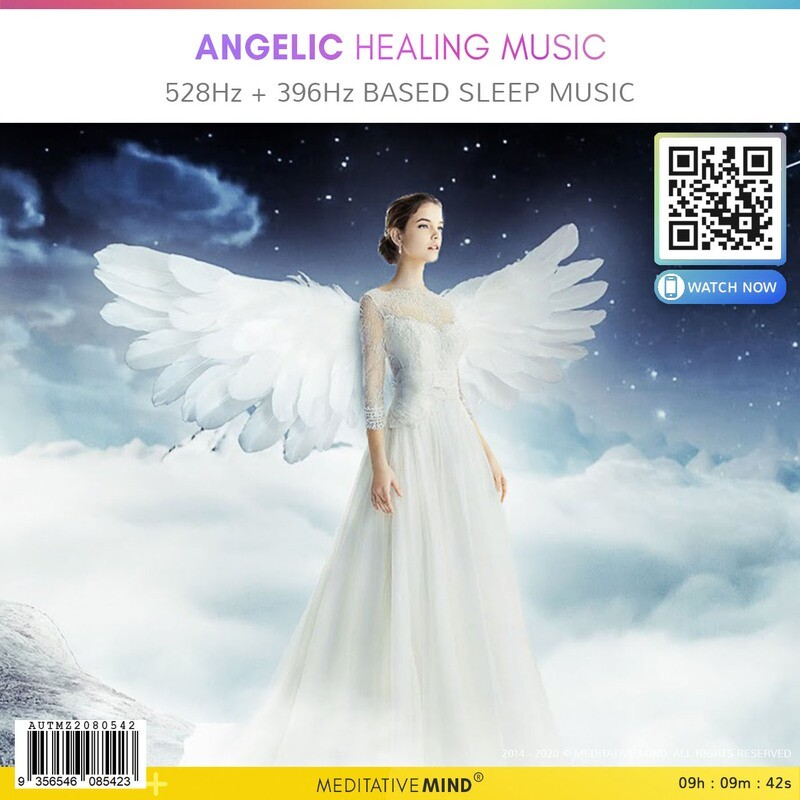 Angelic Healing Music - 528Hz + 396Hz based Sleep Music