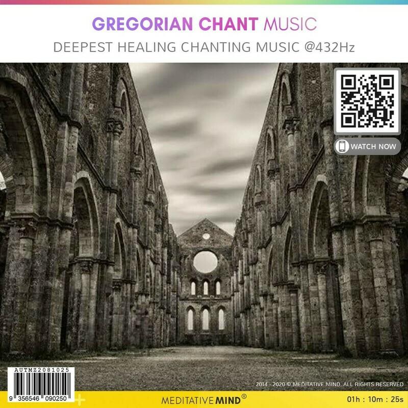 Gregorian Chant Music - Deepest Healing Chanting Music @432Hz