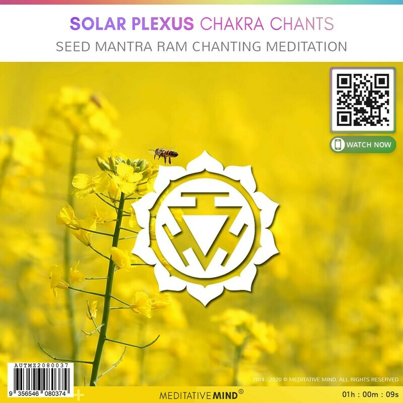 Solar Plexus Chakra Chants - Seed Mantra RAM Chanting Meditation