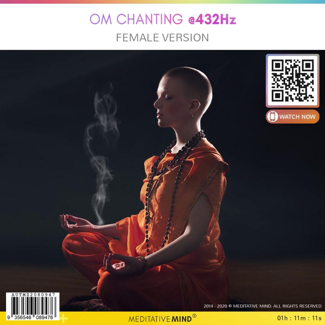 Om Chanting @432Hz - Female Version