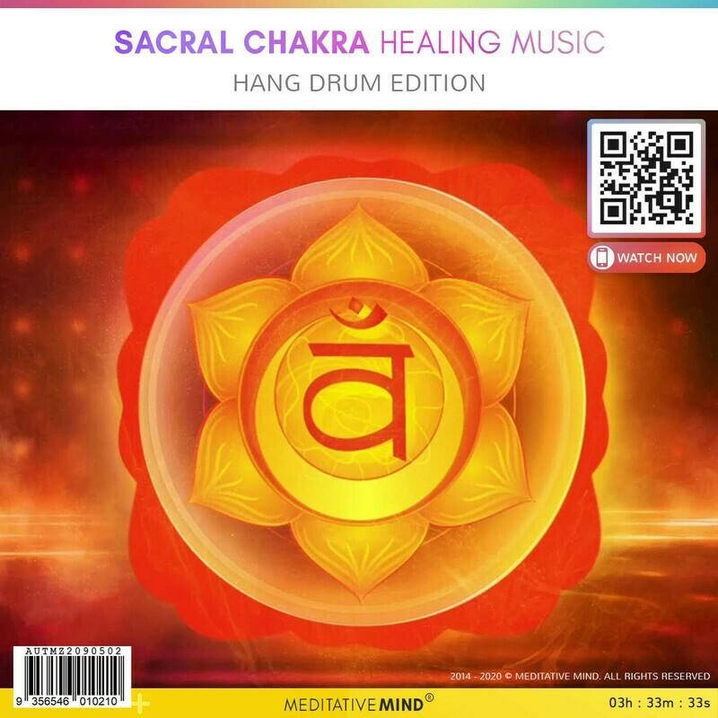 Sacral Chakra Healing Music - Hang Drum Edition
