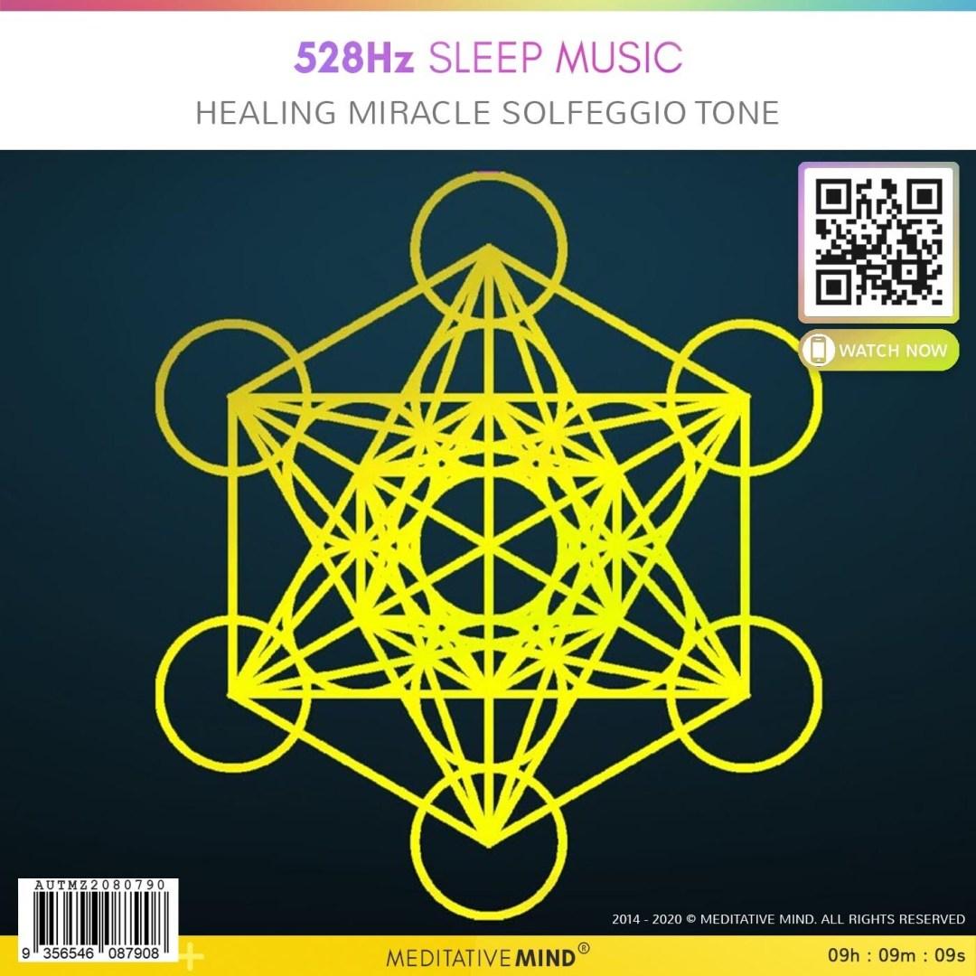 528Hz Sleep Music - Healing Miracle Solfggio Tone