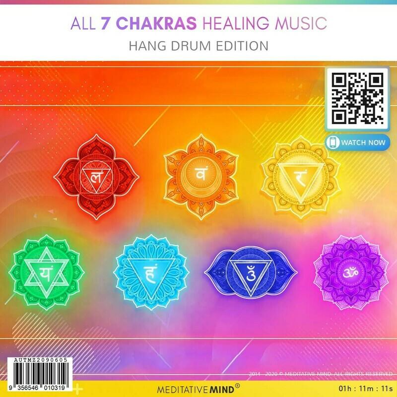 All 7 Chakras Healing Music - Hang Drum Edition