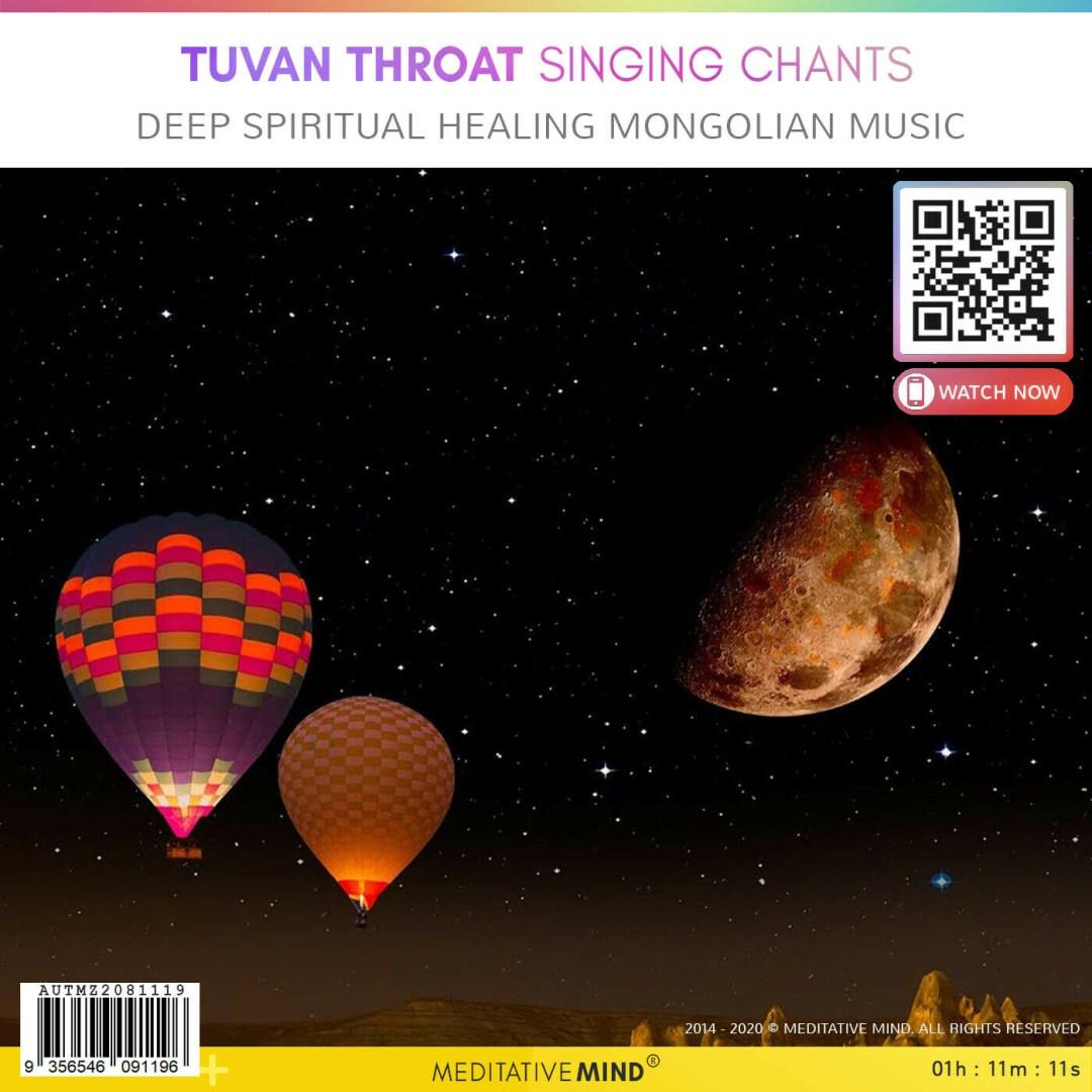 Tuvan Throat Singing Chants - Deep Spiritual  Healing Mongolian  Music