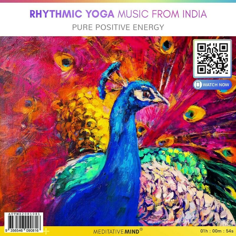 RHYTHMIC YOGA MUSIC from INDIA - Pure Positive Energy