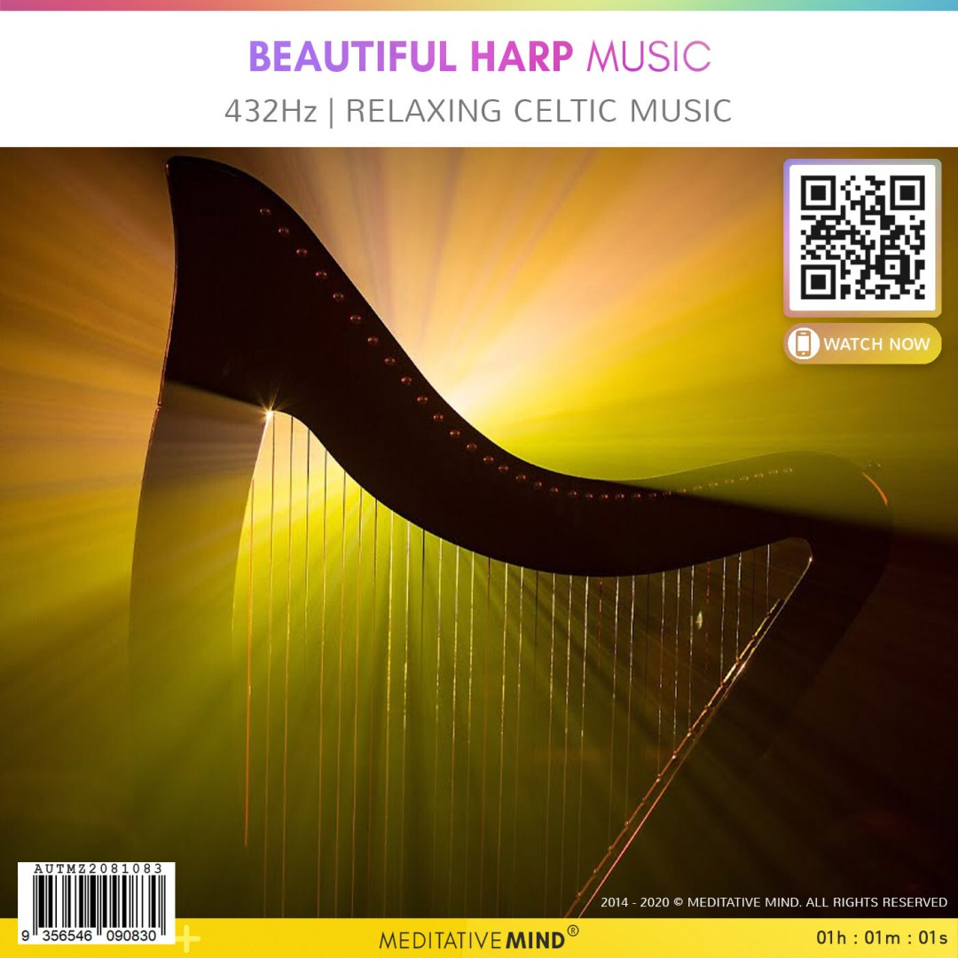 Beautiful Harp Music - 432Hz - Relaxing Celtic Music