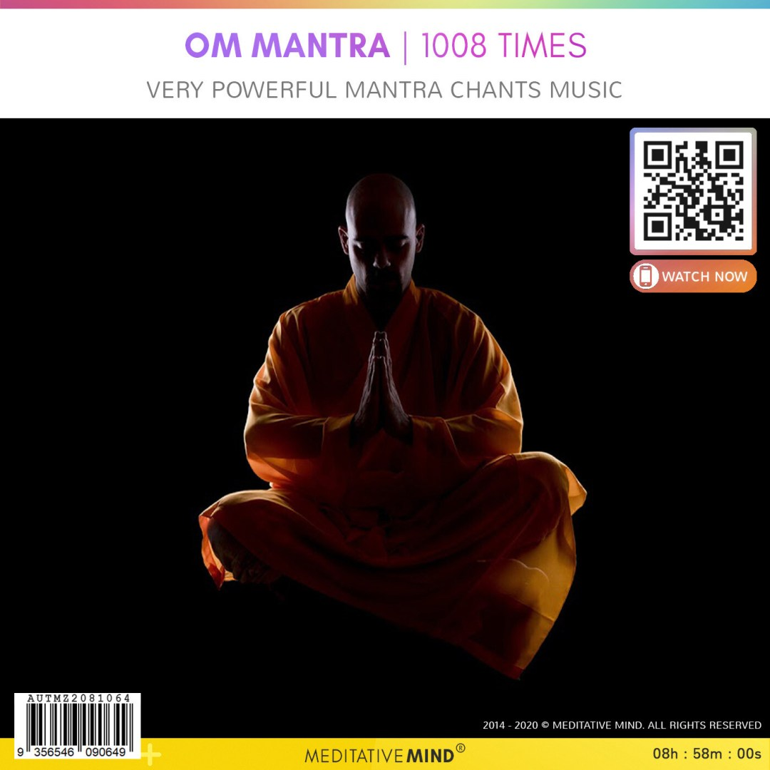 OM Mantra - 1008 Times - Very Powerful Mantra Chants Music