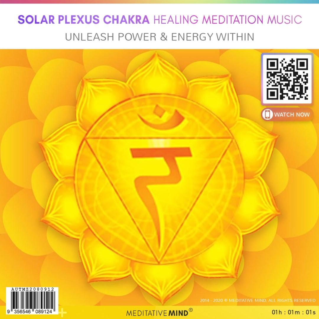 SOLAR PLEXUS CHAKRA Healing Meditation Music - Unleash Power &  Energy Within