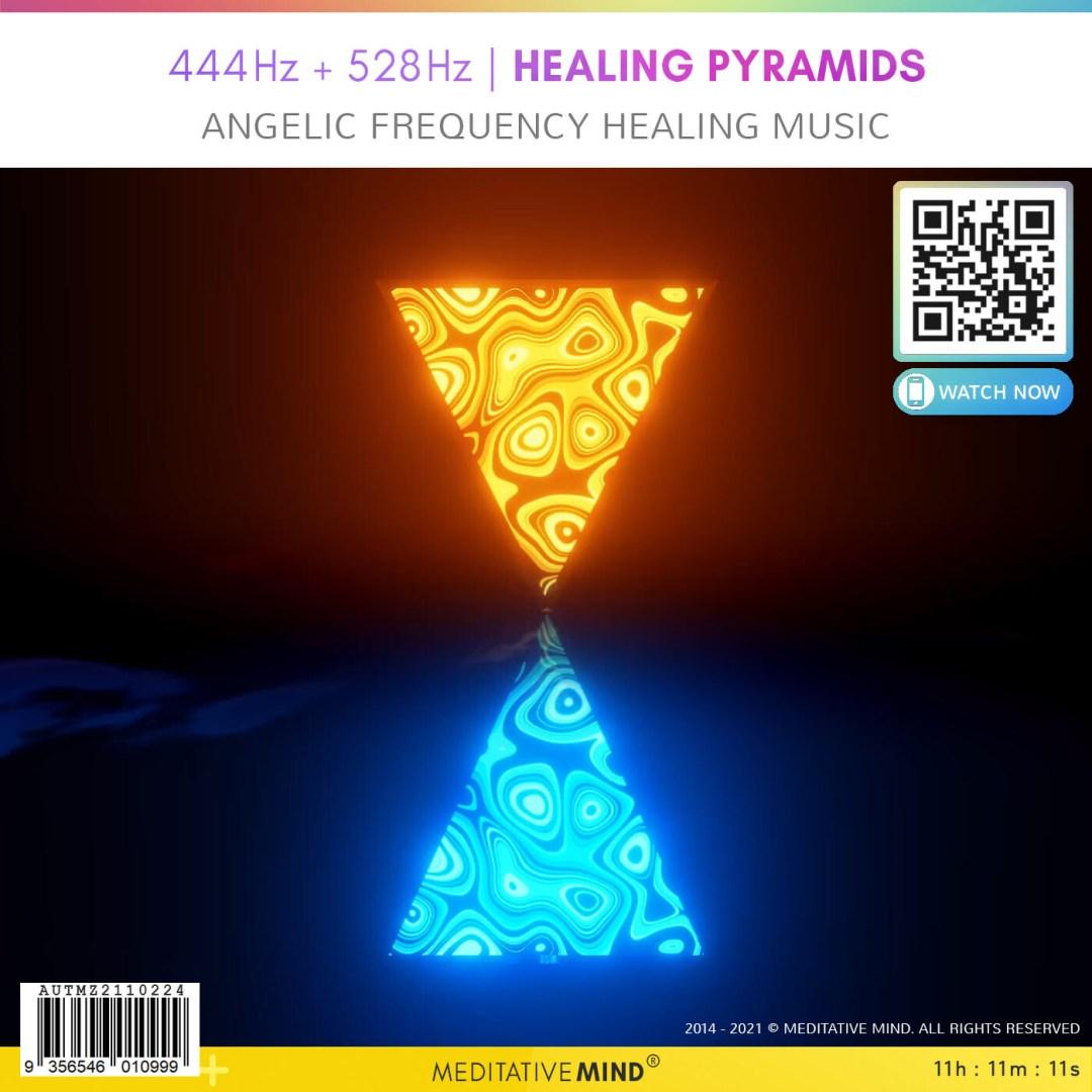 444Hz + 528Hz   Healing Pyramids - Angelic Frequency Healing Music