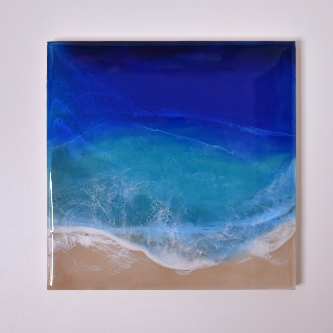 Beach Resin Painting
