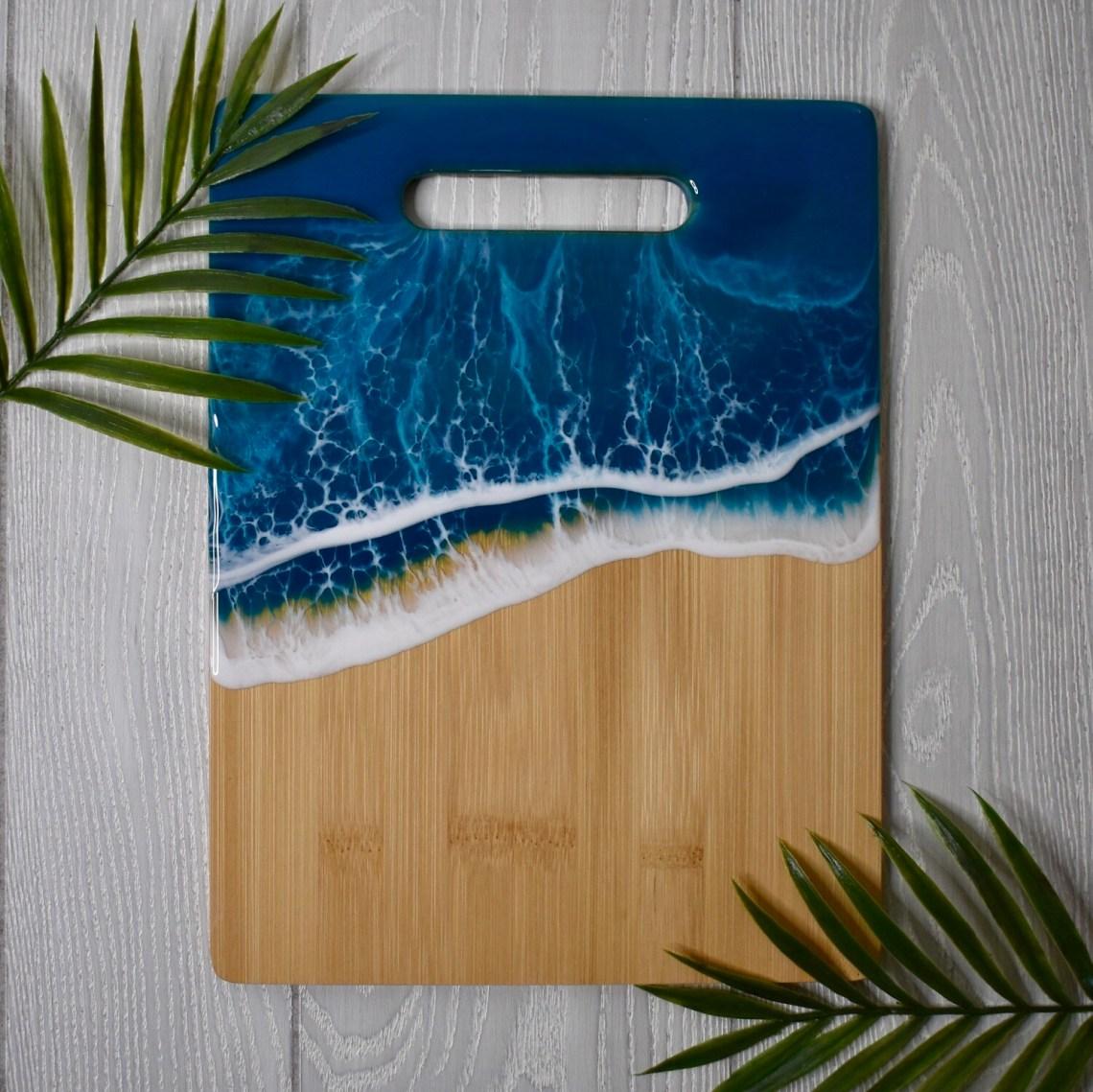Resin Bamboo Cutting Board - III