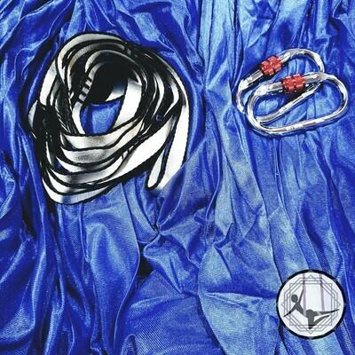 Royal Blue Aerial Yoga Hammock / Silk Set