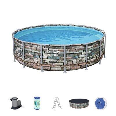 Каркасный бассейн Power Steel