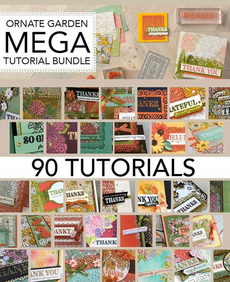 Ornate Garden MEGA Tutorial Bundle