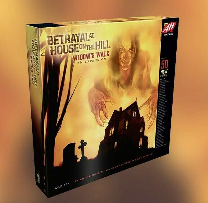 Betrayal House on the Hill Widows Walk