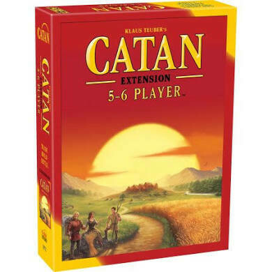 Catan Extension 5-6 Player Expansion (current version)