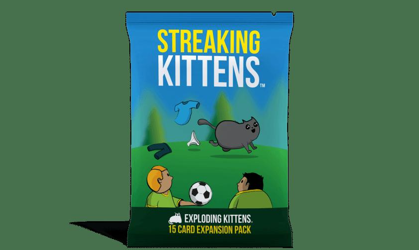 Exploding Kittens: Streaking Kittens Expansion
