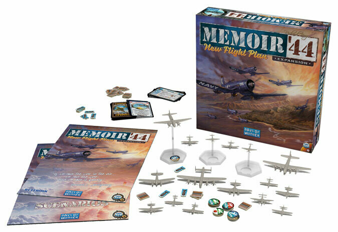 Memoir '44 New Flight Plan Expansion