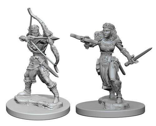 D&D Miniatures: Elf Female Ranger