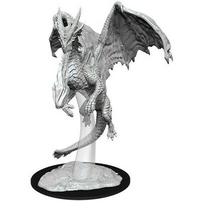 D&D Miniatures Young Red Dragon