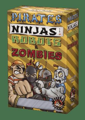 Pirates Ninjas Robots and Zombies