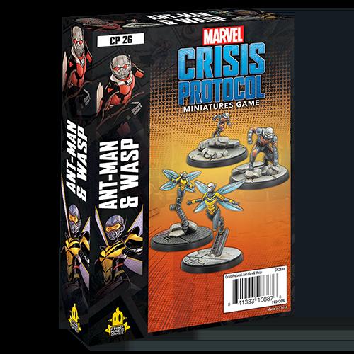 Marvel Crisis Protocol Ant-Man & Wasp