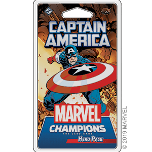 Marvel Champions Captain America Hero Pack