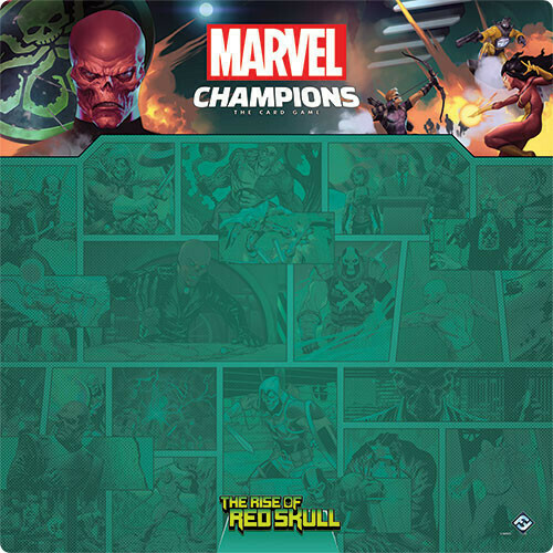 Marvel Champions Rise of Red Skull Playmat