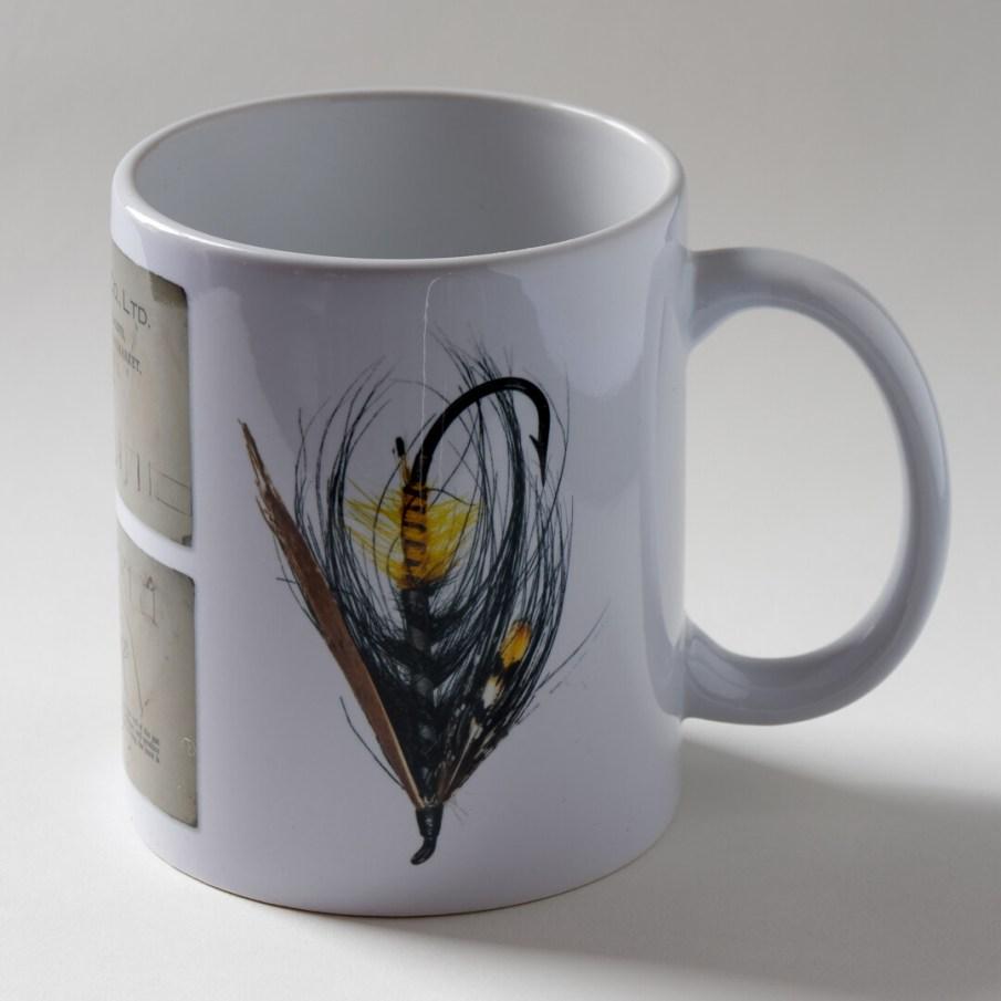 Akroyd Salmon Fly Mug - Version 3