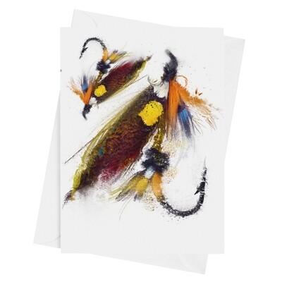 Dunkeld Fishing Fly - Luxury Art Greetings Card 8